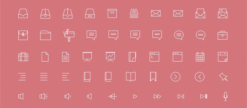 Лучшие бесплатные коллекции векторных иконок :: Блог