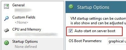xenserver autostart before